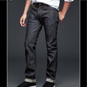 Gap Japanese Slim Selvidge Jeans in 32x30